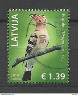 Latvia Lettland 2014 Bird O - Letonia