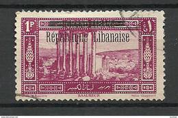 LIBANON Grand Liban 1927 Michel 106 O - Used Stamps