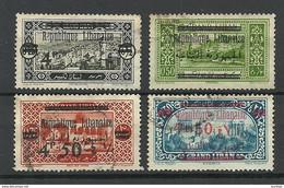 LIBANON Grand Liban 1927-1928 Michel 110 - 111 & 122 & 146 O - Used Stamps