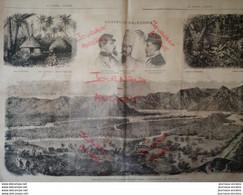 1872 NOUVELLE CALÉDONIE - ALIKI KAKI - TRIBU DES KANALAS - POSTE MILITAIRE DE NAPOLEONVILLE - 1850 - 1899