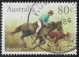 Australia SG1011 1986 Horses 80c Good/fine Used [12/12063/6D] - Gebraucht
