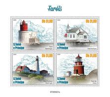 Sao Tome 2020 Lighthouses S202012 - Sao Tome And Principe
