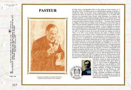 """"""" PASTEUR """" Sur Feuillet CEF 1er Jour Sur Soie De 1995. N°YT 2925. Parfait état. FDC - Louis Pasteur"""