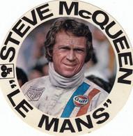 Autocollant. Le  Mans. Steve Mc Queen - Stickers