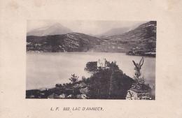 J21-74) LAC D ' ANNECY - ( 2 SCANS ) - Annecy