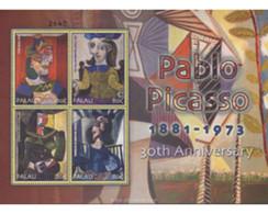 Ref. 650825 * MNH * - PALAU. 2004. PABLO RUIZ PICASSO . PABLO RUIZ PICASSO - Palau