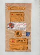 Vieille Liqueur Côte Basque Izarra Zazpiak Bat Eskial Herria - Non Classificati