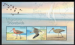 AUSTRALIA, 2021 MIGRATORY SHORE BIRDS MINISHEET MNH - Ongebruikt