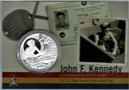 Solomon Islands 2017 John F. Kennedy - 100th Anniversary $1 Uncirculated Coin - Solomon Islands