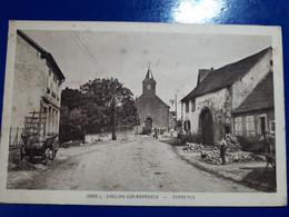 Singling-sur-Rohrbach- CHARETTE PAYSAN EGLISE - Other Municipalities