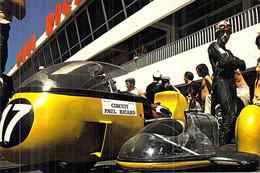 Cpm  Sports > Sport Moto Circuit Paul Ricard Stand Et Side Car B.MW LE CAMP DU CASTELLET - Motorcycle Sport