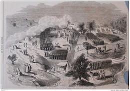 Kabylie - Pose De La Première Pierre Du Fort Napoléon à Souk-el-Arba - Page Original - 1857 - Historical Documents