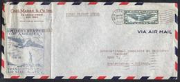 USA First Transatlantic Flight FAM 18 Sent NEW York 1939 - 1c. 1918-1940 Briefe U. Dokumente
