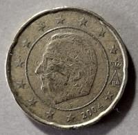 2004  - BELGIO -  MONETA IN EURO - DEL VALORE DI 20 CENTESIMI -  CIRCOLATA - Belgien