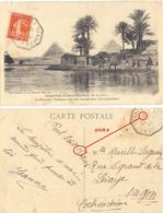 GRAND-BRETAGNE TàD PAQUEBOT PORT SAID 27 OC 31 CP Rédigée En Mer => PARIS Réexpédié LAUSANNE SUISSE - Maritime Post