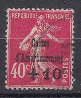 FRANKRIJK - Michel - 1930 - Nr 252 - Gest/Obl/Us - Cassa Di Ammortamento