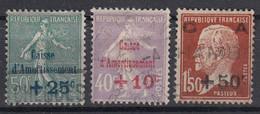 FRANKRIJK - Michel - 1931 - Nr 264/66 - Gest/Obl/Us - Sinking Fund