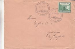 Allemagne - Empire - Lettre De 1940  - Oblit Malmedy - Exp Vers Göttingen - Cantons De L'Est - Valeur 45 Euros - Brieven En Documenten