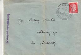 Allemagne - Empire - Lettre De 1942  - Oblit Malmedy - Exp Vers Macapagne - Cantons De L'Est - - Brieven En Documenten