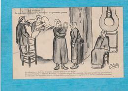 Illustrateur C. Lestin. - Au Village - Le Ménage à Jacquet Lhoumiâ - Le Premier Gosse. - Autres Illustrateurs
