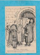 Illustrateur C. Lestin. - Au Village - Après La Messe. - Autres Illustrateurs