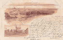 Litho Card De Bussy Lourenco Marques 1900 - Mozambique