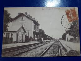 REMILLY SAINT HONORE  LES BAINS LA GARE - Saint-Honoré-les-Bains
