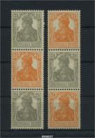 DR 1916 ZD Nr S12a+S14a Ungebraucht/Falz ME 60.- (90195) - Se-Tenant