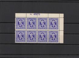BIZONE 1945 Nr 9 Postfrisch (213596) - American/British Zone