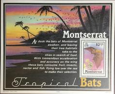 Montserrat 1988 Bats Minisheet MNH - Bats