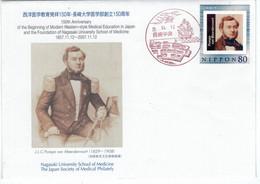 Johannes Lijdius Catharinus Pompe Van Meerdervoort War Ein Niederländischer Arzt In Nagasaki In Der Bakumatsu-Zeit Japan - Medicina