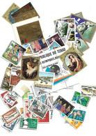 Tchad: 100 Timbres Neufs Ou Oblitérés Avec 2 Timbres OR - Sammlungen (ohne Album)