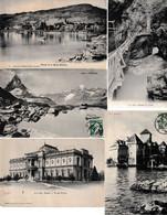 N 94  Lot 100 CPA Différentes De Suisse - 100 - 499 Cartoline