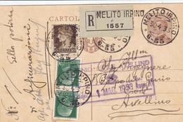 Melito Irpino Avellino) Frazionario 6-55 Del 1933 Splendido - Marcofilía