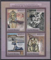 S10. Guinea Bissau MNH 2012 The 90th Anniversary Of The Discovery Of The Tomb Of Tutankhamun - Archéologie