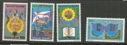 Tunisie 117 - 1979-80 N°897/898/907/909 - Tunisia