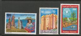 Tunisie 118 - 1981 N°938/943/949 - Tunisia