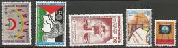Tunisie 118A - 1981 N°958/984 à 987 - Tunisia