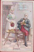 Chromo Huis G. Heirwegh Quintijn Groote Markt Temse Temsche Reclame Publicite  Folklore Holland Marken - Other
