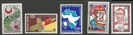 Tunisie 119 - 1983 N°988 à 992 - Tunisia