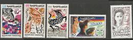 Tunisie 121X - 1984 N°1016 à1019 - Tunisia