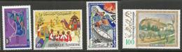 Tunisie 122 - 1984 N°1022 à1025 - Tunisia