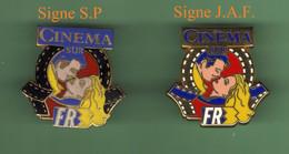 CINEMA SUR FR3 *** Lot De 2 Pin's Differents ***  0042 - Mass Media
