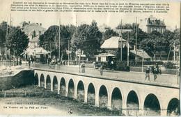 08 - Charleville Mézières : Le Viaduc De La Pré Au Port - Charleville
