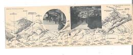 65 - CPA Pyrénées, Carte Géographique Panoramique, - Sin Clasificación