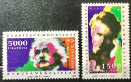 TURKEY 1994 MNH STAMP ON  EUROPA , 2 DIFFERENT  STAMPS - Ohne Zuordnung