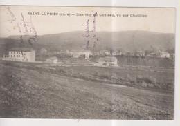CPA-39-Jura- SAINT-LUPICIN- Quartier Du Château, Vu Sur Chatillon- - Otros Municipios