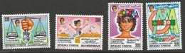 Tunisie 141 - 1988 N°1101 à 1104 - Tunisia