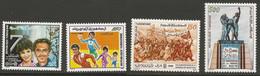 Tunisie 142 - 1988 N°1105 à 1108 - Tunisia