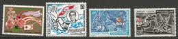 Tunisie 143 - 1988 N°1109 à 1112 - Tunisia